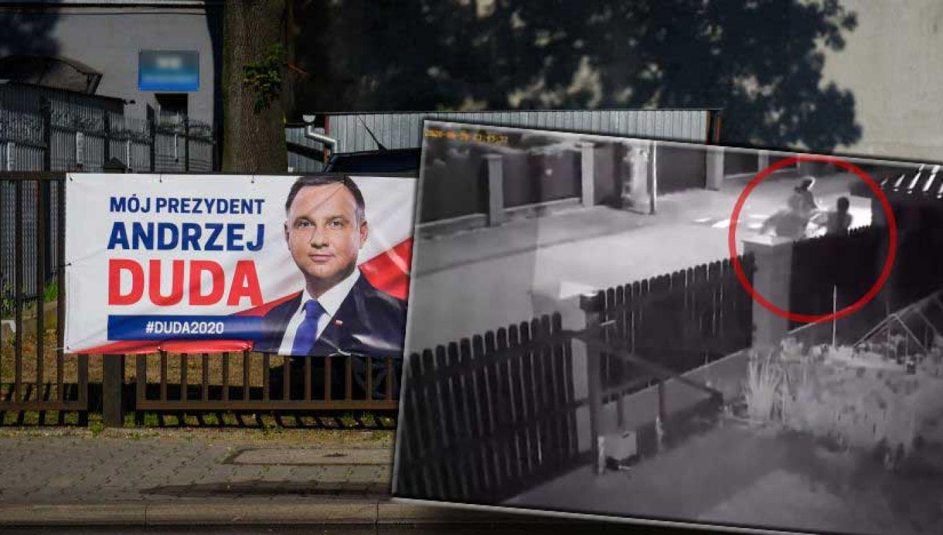 O sprawie zawiadomiono już policję (fot. Artur Widak/NurPhoto via Getty Images; Twitter/Maciej Stańczyk)