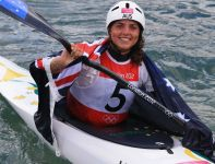 Australijka Jessica Fox zdobyła srebrny medal (fot. Getty Images)