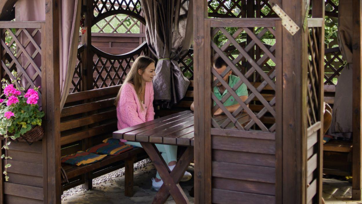 Agnieszka przekazała Dawidowi smutną wiadomość. Zdecydowała się na opuszczenie programu (fot. TVP)