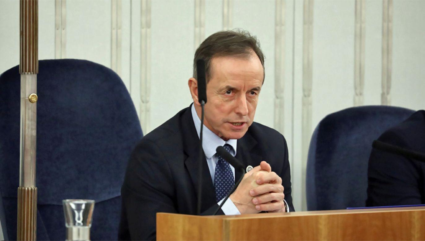 Tomasz Grodzki został marszałkiem Senatu (fot. PAP/Tomasz Gzell)