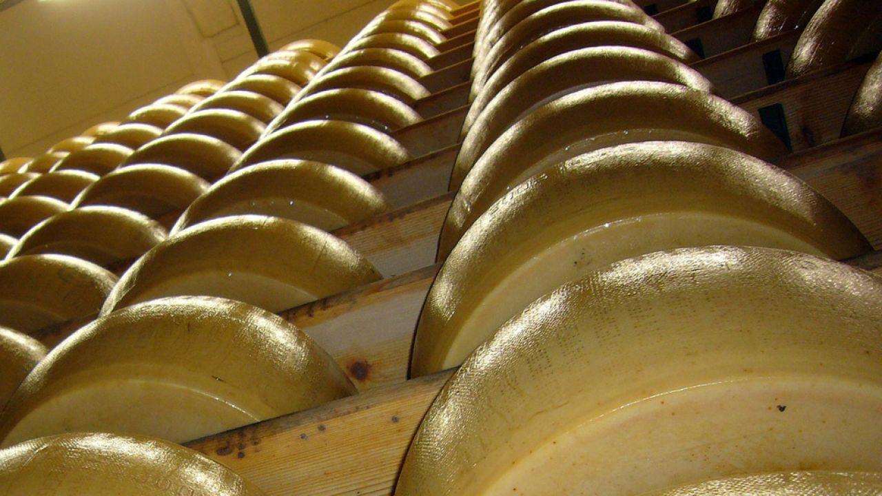 Parmezan produkowany jest zazwyczaj w małych zakładach (fot. pixabay.com/joakant)