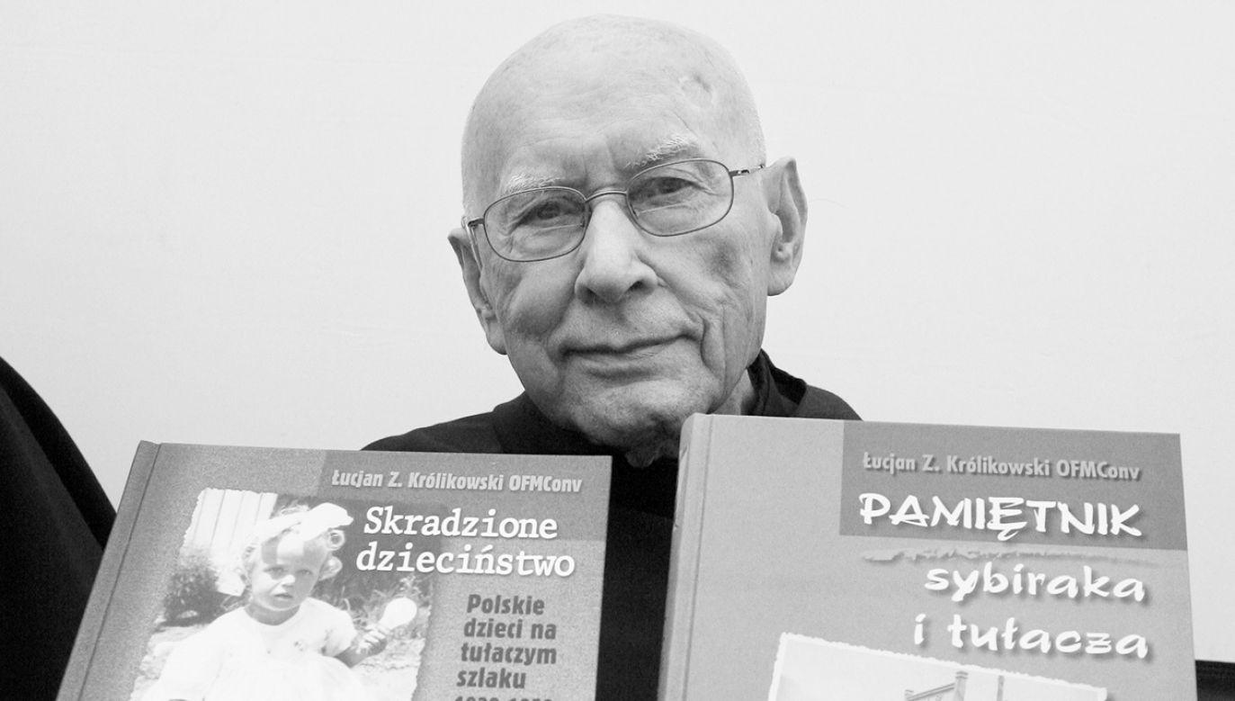 Łucjan Królikowski odszedł 11 października 2019 roku (fot. arch.PAP/Jacek Bednarczyk)