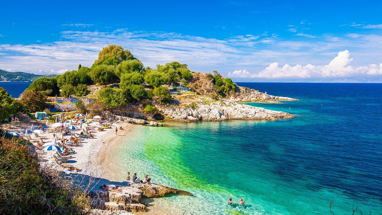Na szczycie zestawienia najbardziej bezstresowych miast znalazła się stolica wyspy Korfu (fot. Shutterstock/Todoran Andrei)