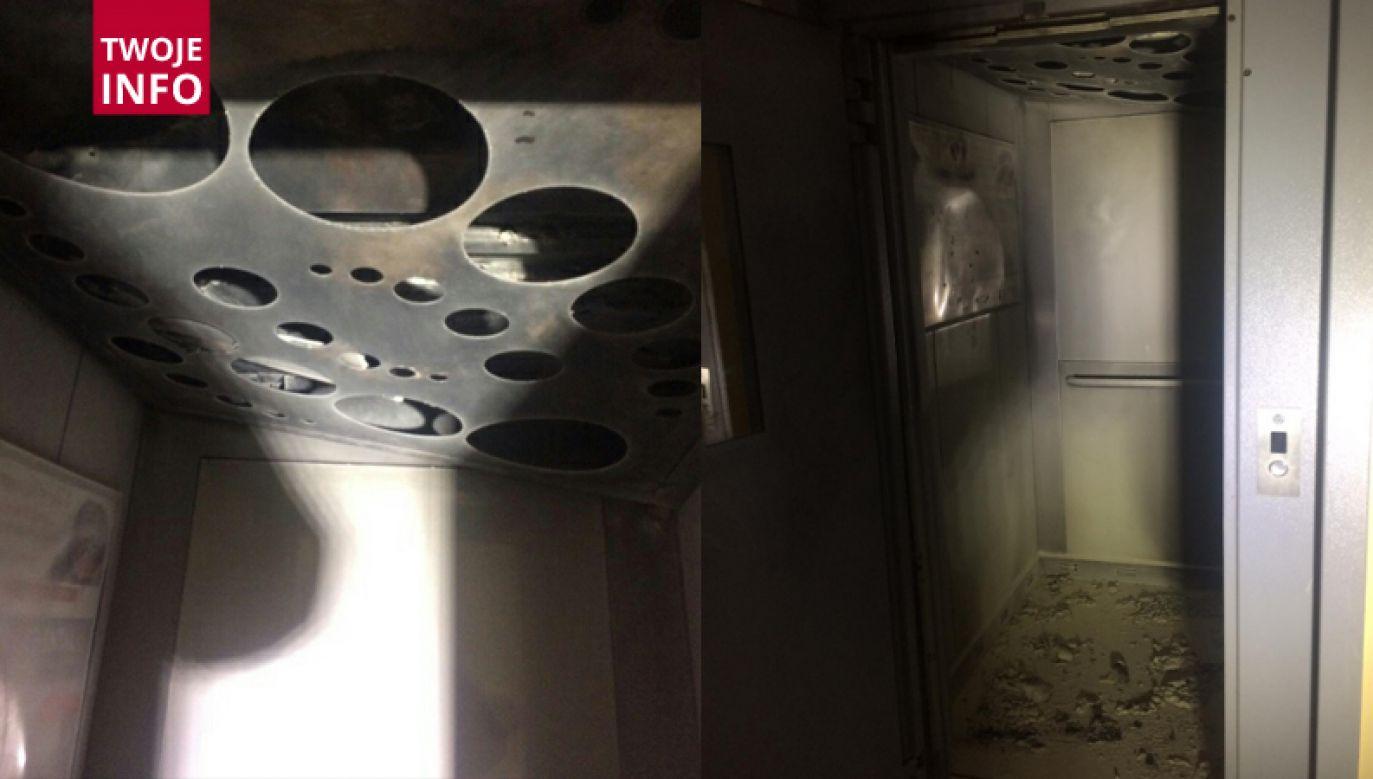 Ewakuowano 20 osób (fot. Twoje Info/Komenda Powiatowa Państwowej Straży Pożarnej w Tczewie)