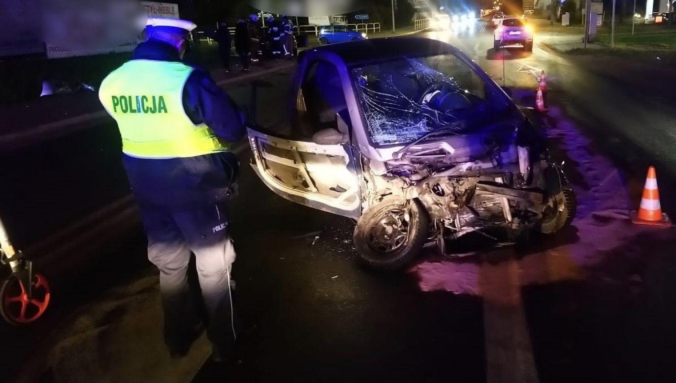 Przyczyny wypadku wyjaśnia policja (fot. policja.pl, zdjęcie ilustracyjne)