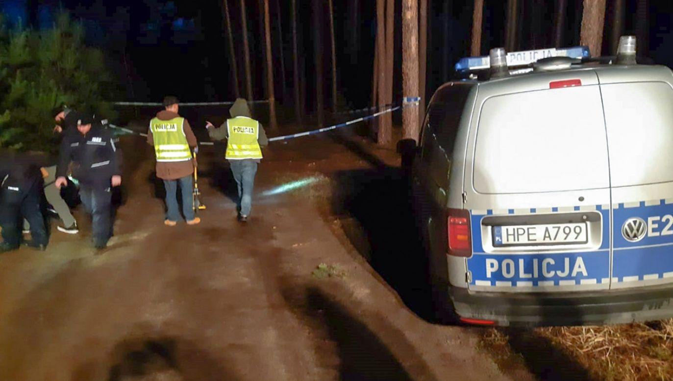 Życie postrzelonego 30-letniego napastnika nie jest zagrożone (fot. Policja lubuska)