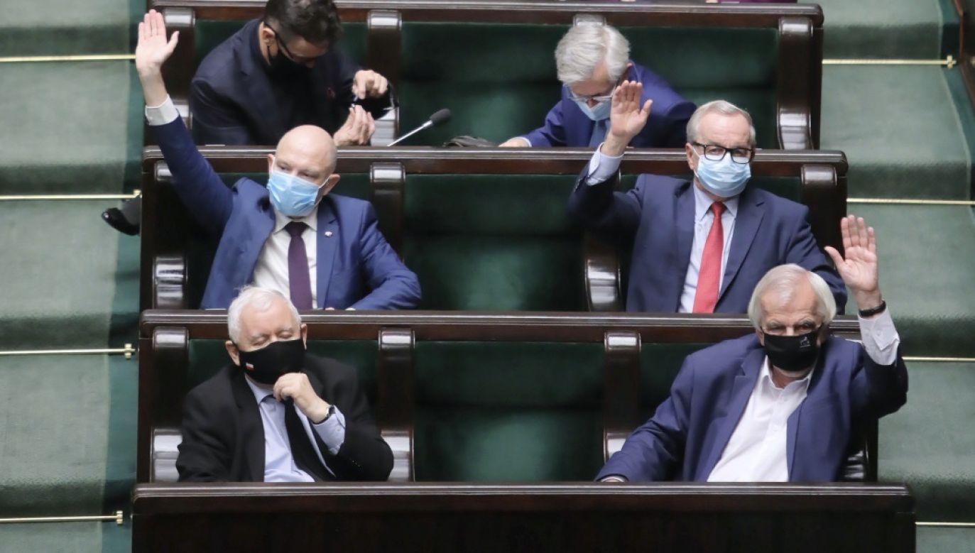 Sejm dwukrotnie odrzucił kandydaturę Zuzanny Rudzińskiej-Bluszcz (fot. PAP/Wojciech Olkuśnik)