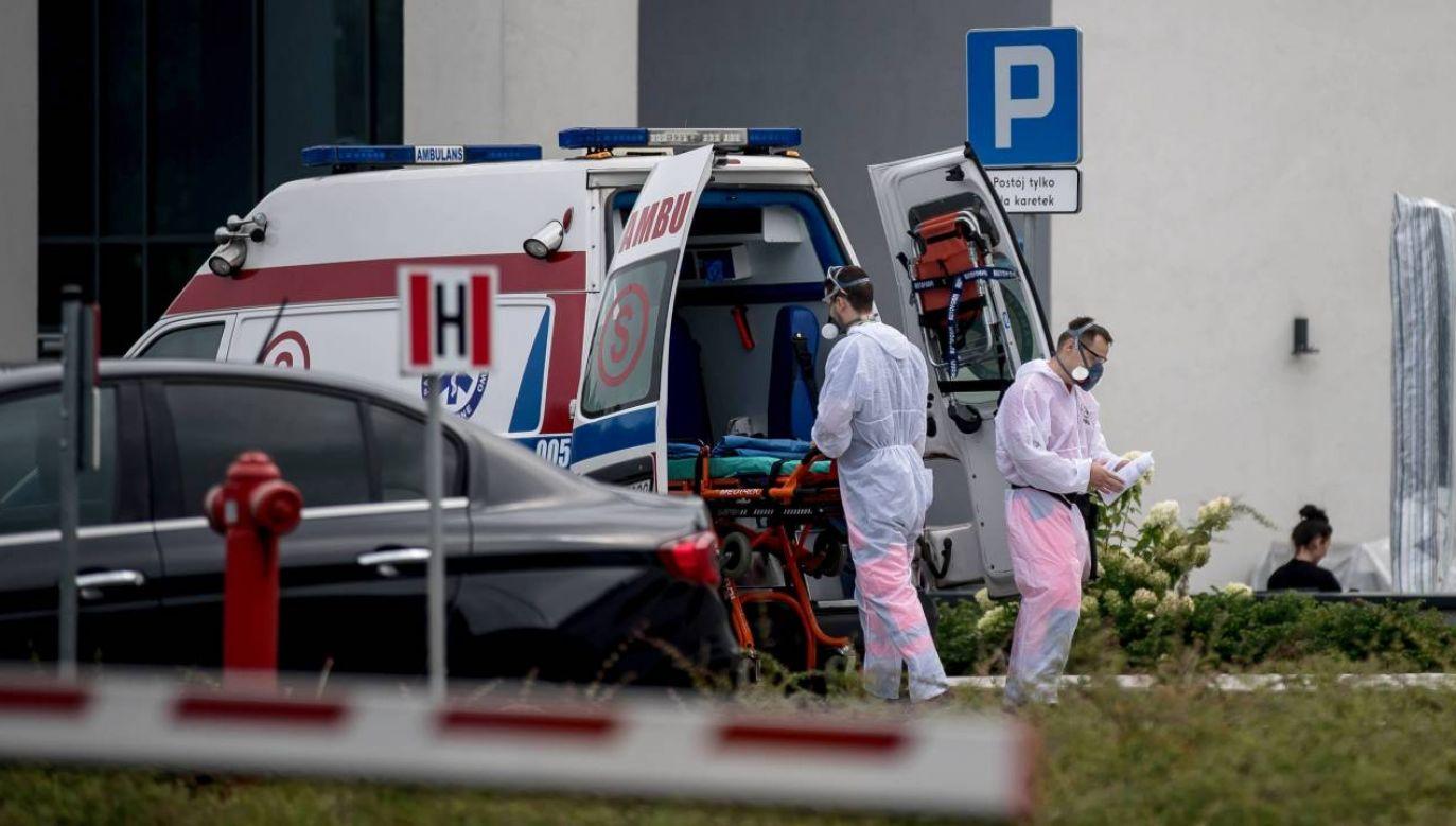 Epidemia koronawirusa postępuje (fot.PAP/Łukasz Gągulski)