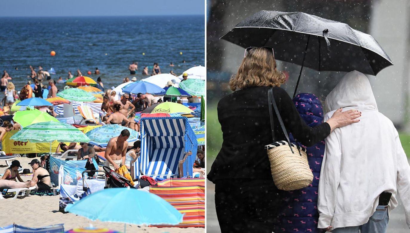 Po mieszanym tygodniu pogoda ma się poprawić w weekend (fot. PAP/Marcin Bielecki, Leszek Szymański)