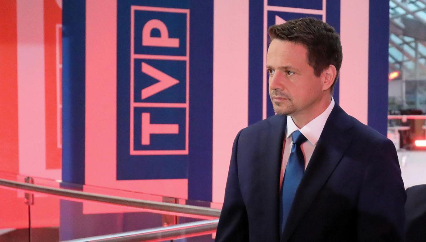 Czy kandydat PO przyjmie zaproszenie do debaty? (fot.  PAP/Paweł Supernak)