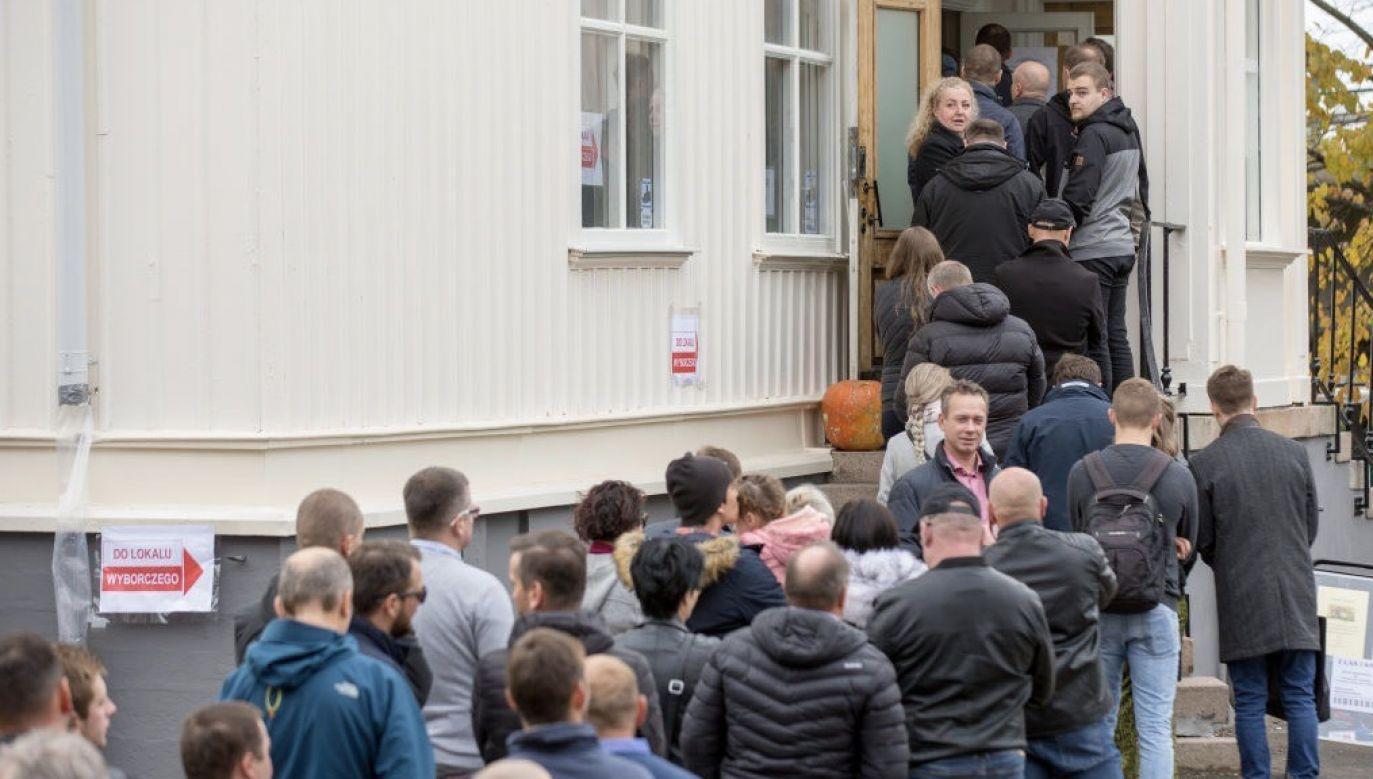Wybory nie odbyły się w przewidzianym prawem terminie (fot. Karol Serewis/SOPA Images/LightRocket via Getty Images)