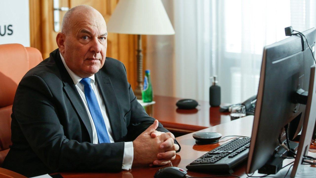 Minister finansów Tadeusz Kościński (fot. arch. PAP/Rafał Guz)