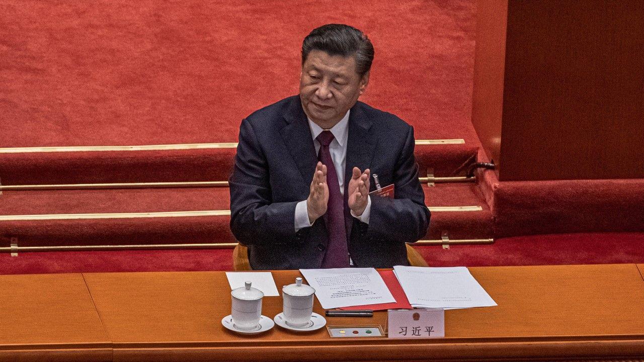 Przywódca Chin pierwszy raz spotka się z Joem Bidenem (fot arch. PAP/EPA/ROMAN PILIPEY)
