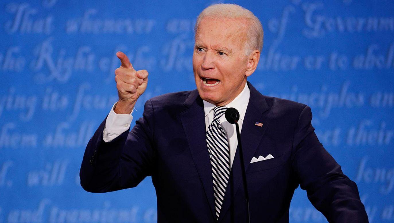 Wybory prezydenckie w USA - Joe Biden (fot. REUTERS/Brian Snyder)