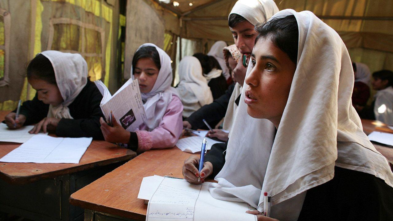 Ministerstwo spraw kobiet zostało przez reżim zastąpione (fot. Paula Bronstein /Getty Images)