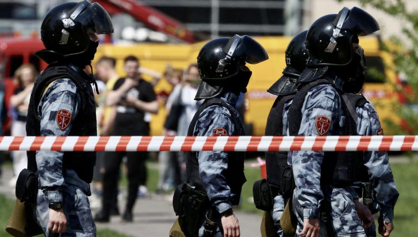 Sprawcę zatrzymano (fot. Yegor Aleyev\TASS\Getty Images)