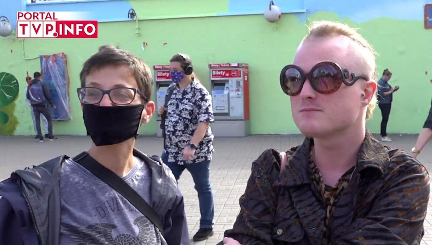 Zwolennicy Rafała Trzaskowskiego mówią o powodach swojej decyzji wyborczej (fot. portal tvp.info)