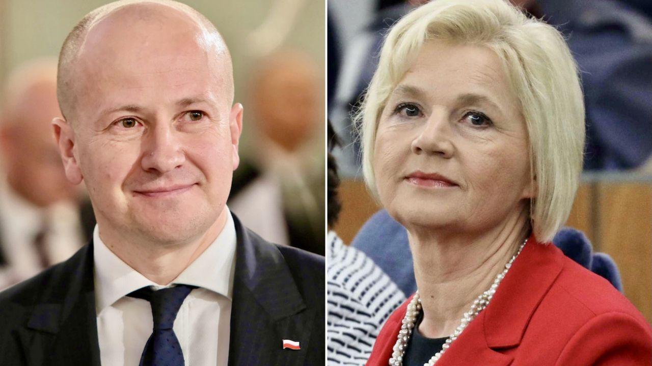 Bartłomiej Wróblewski i Lidia Staroń (fot. arch.PAP/Leszek Szymański, PAP/Tomasz Gzell)