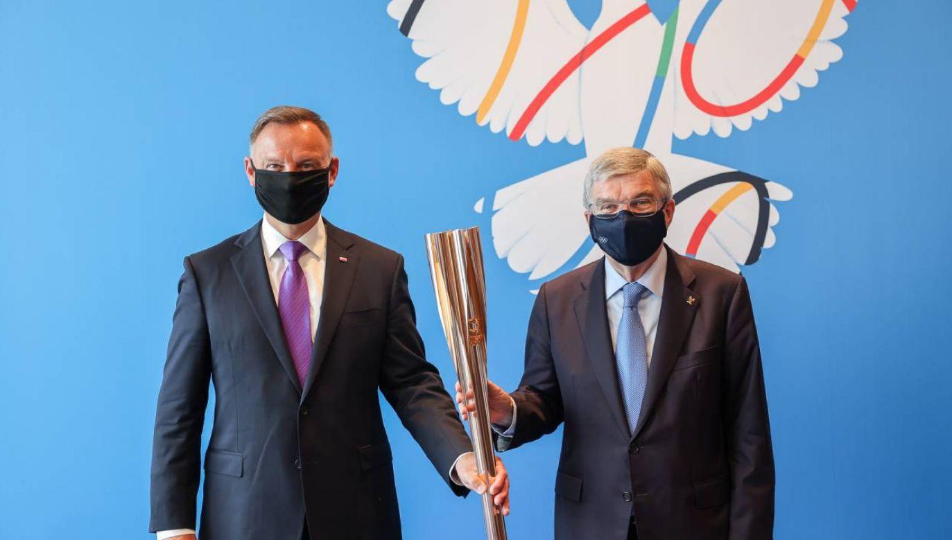 W planach prezydenta jest udział w ceremonii otwarcia Igrzysk Olimpijskich w Tokio (fot. KPRP/Jakub Szymczuk)