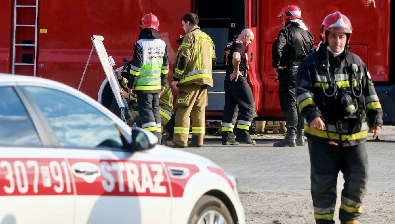 Prawdopodobną przyczyną awarii w Łodzi był wybuch i pożar jednego z transformatorów na Janowie (fot. PAP/Bartosz Jankowski, zdjęcie ilustracyjne)