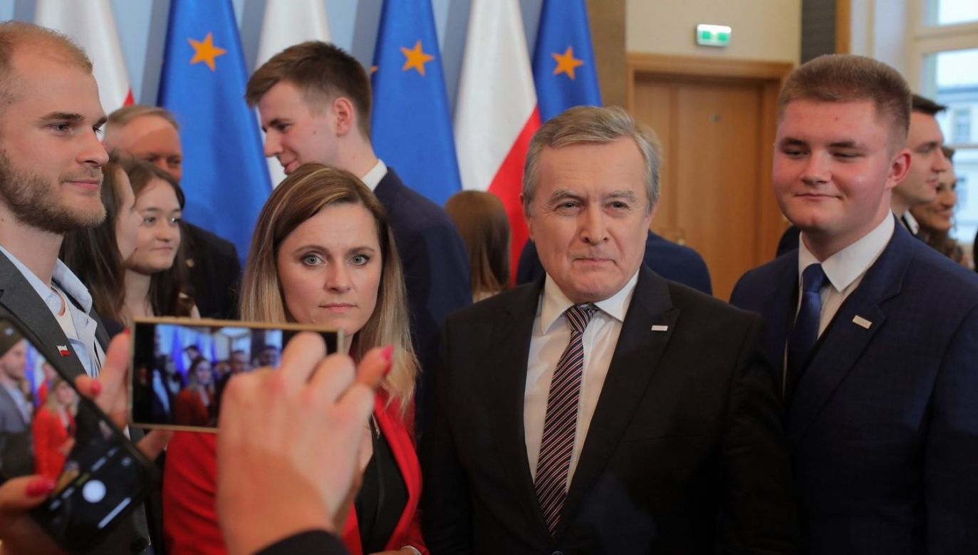 Rada Dialogu z Młodym Pokoleniem to pierwszy organ dialogu pomiędzy władzą a młodymi Polakami (fot. Twitter/Piotr Gliński)
