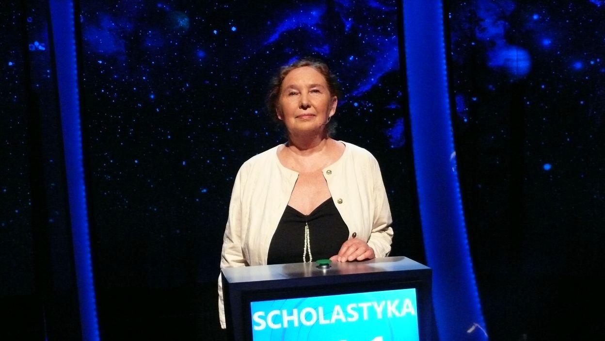 Pani Scholastyka Michalak wygrała 14 odcinek 120 edycji