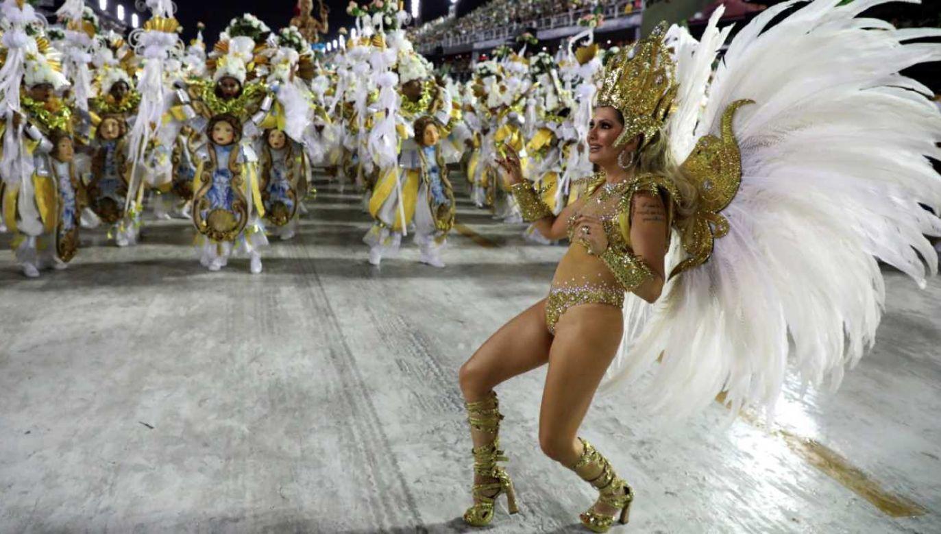 Karnawał w Rio, który zaplanowano na luty, został bezterminowo przełożony z powodu pandemii koronawirusa (fot. PAP/EPA/FABIO MOTTA)