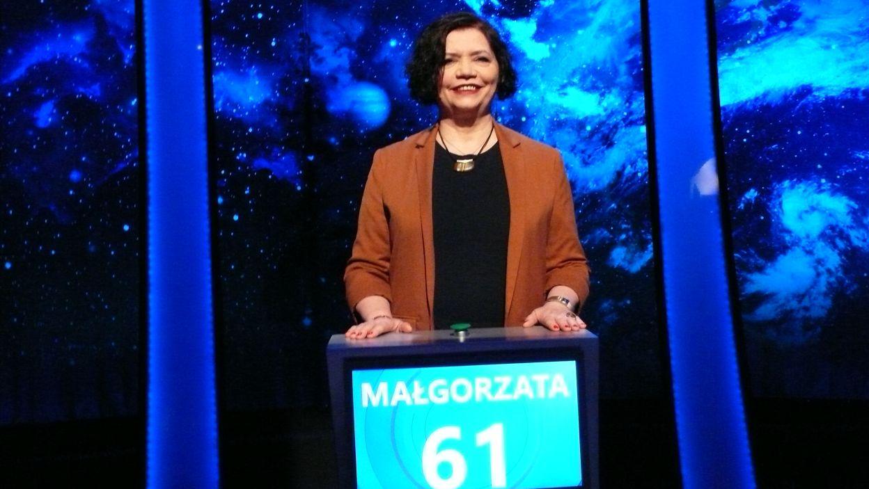 Pani Małgorzata Kamińska wygrała 16 odcinek 118 edycji