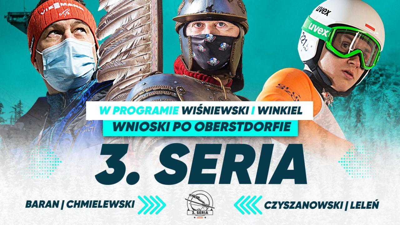 """""""3. seria"""": oglądaj po inauguracji Turnieju Czterech Skoczni w Oberstdorfie (sport.tvp.pl)"""