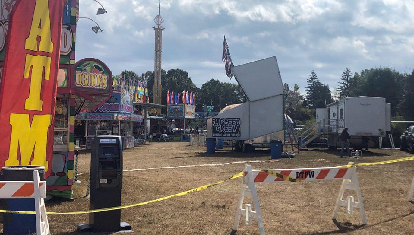 Policja stanowa z New Jersey wszczęła śledztwo ws. tragedii (fot. TT/Bob Brooks)