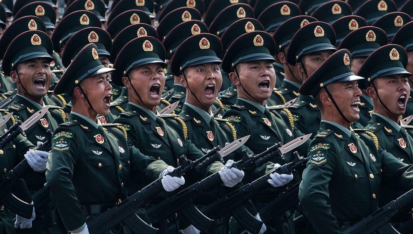 Władze w Pekinie nawet nie udają, że ćwiczenia wojskowe w pobliżu Tajwanu są rutynowe (fot. Kevin Frayer/Getty Images)
