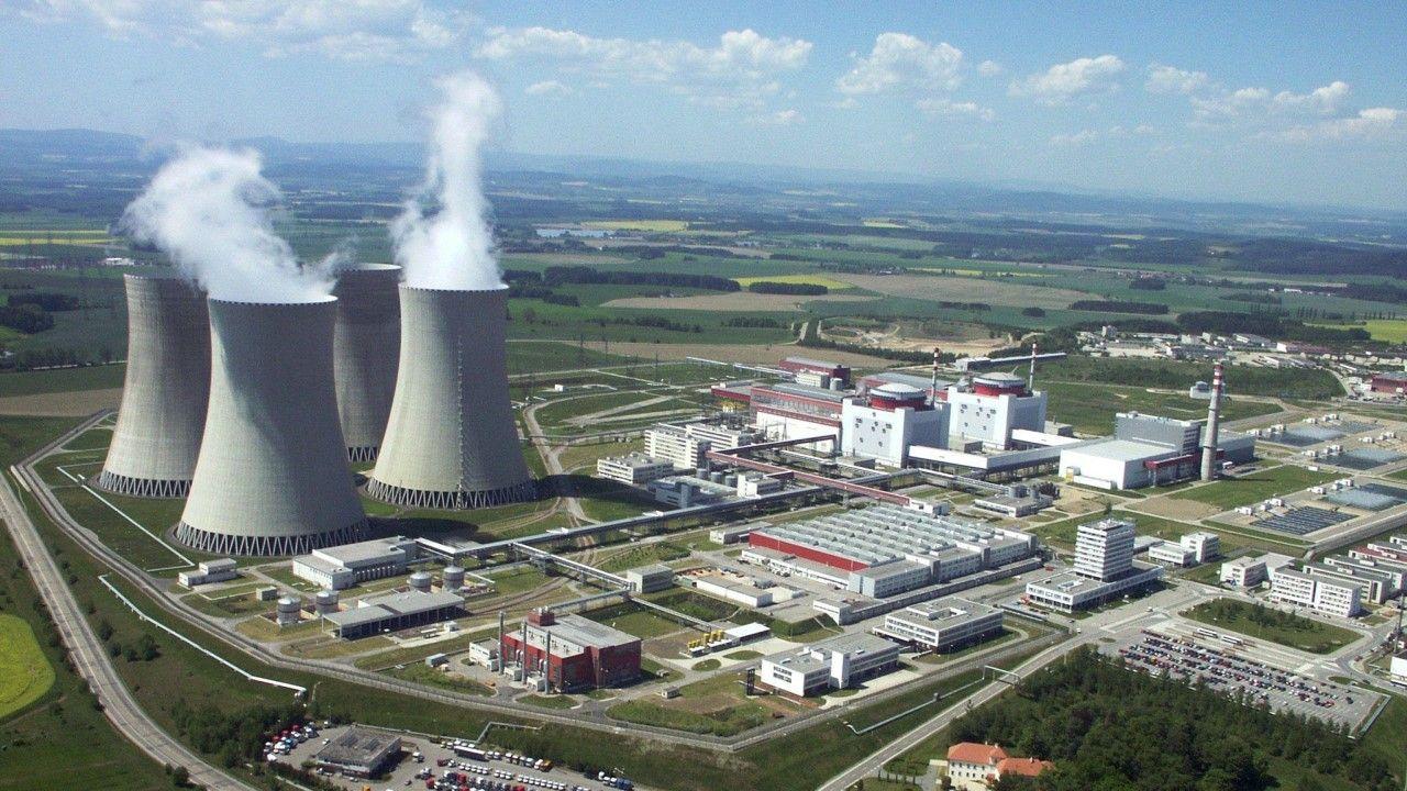 Zdjęcie archiwalne czeskiej elektrowni atomowej w Temelinie (Zdjecie ilustracyjne) (fot. arch PAP/CTK /Milan Knize)