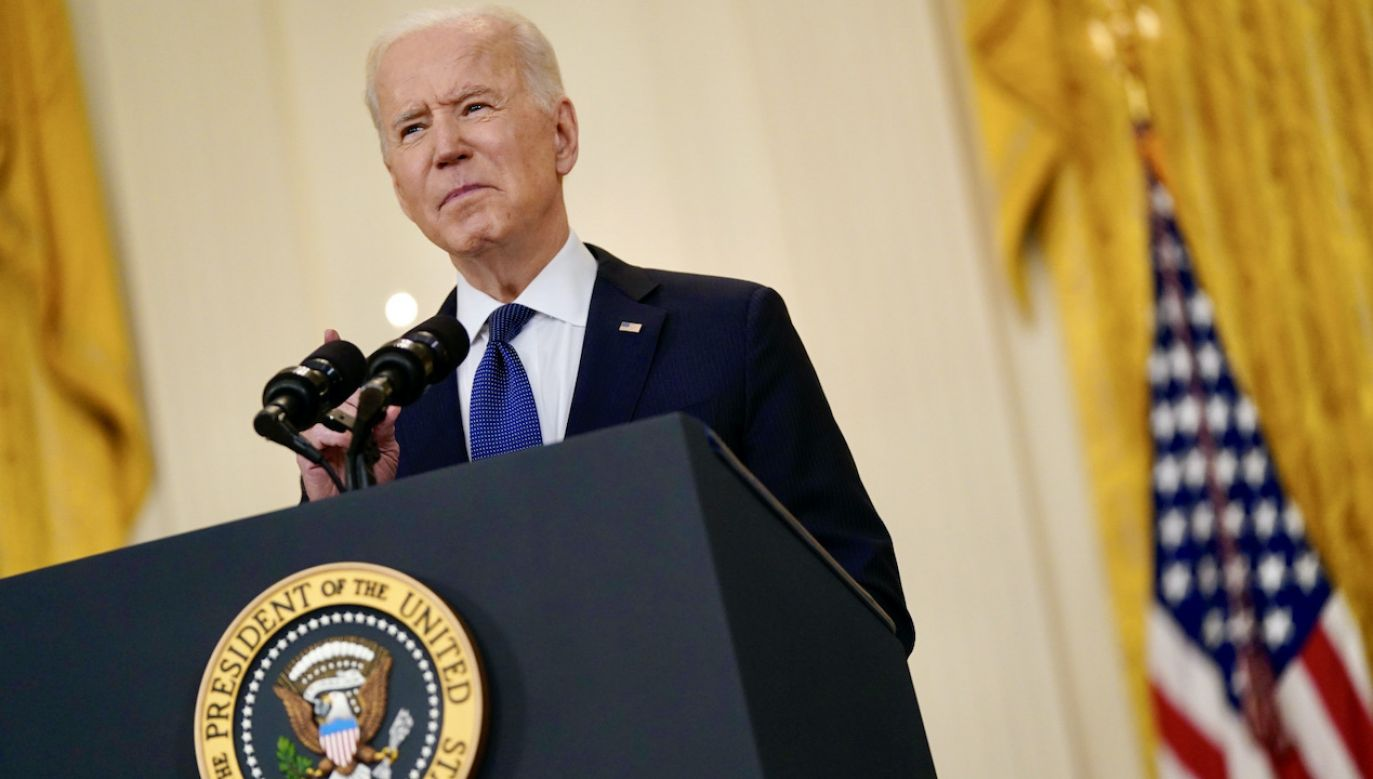 Prezydent USA Joe Biden (fot. PAP/EPA/Chris Kleponis)