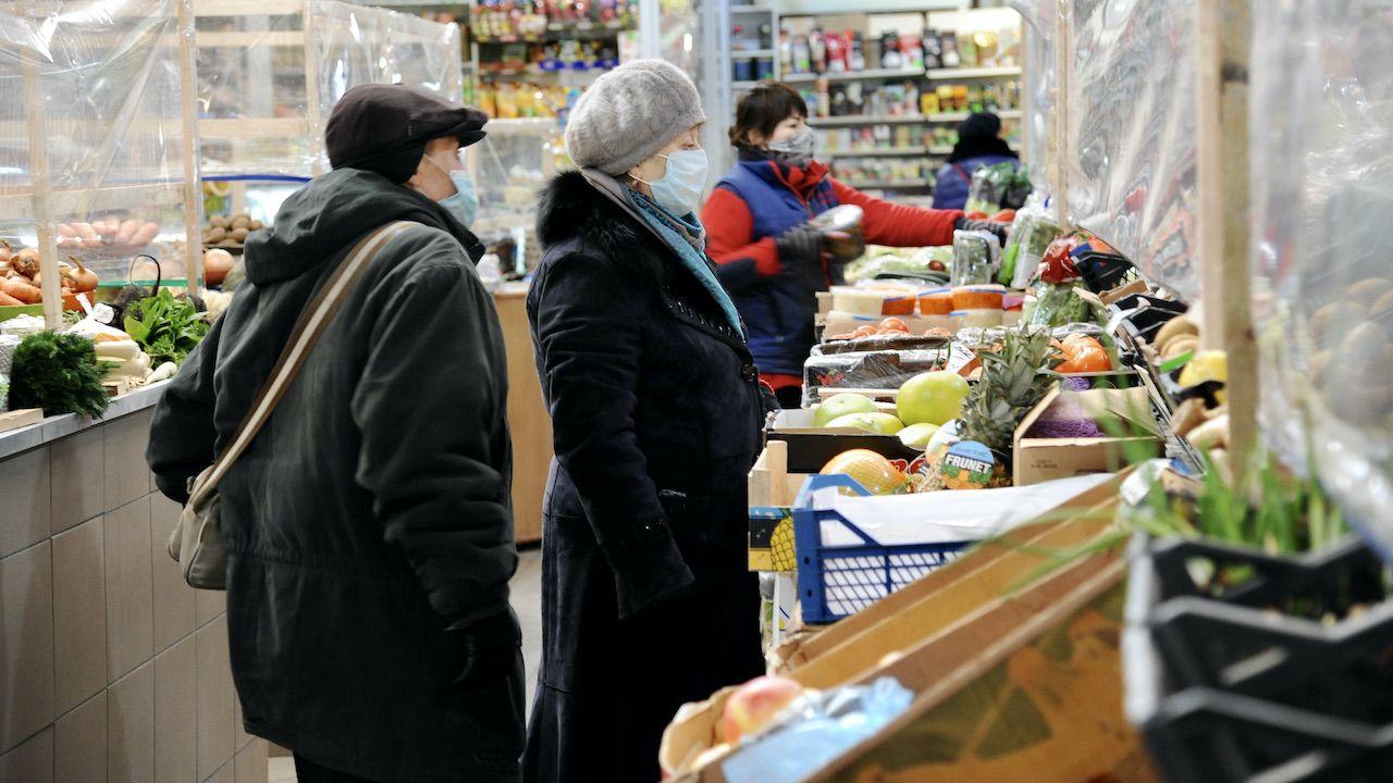 Na Ukrainie znacznie zdrożała żywność (fot. M.Tys/SOPA/LightRocket/Getty Images)