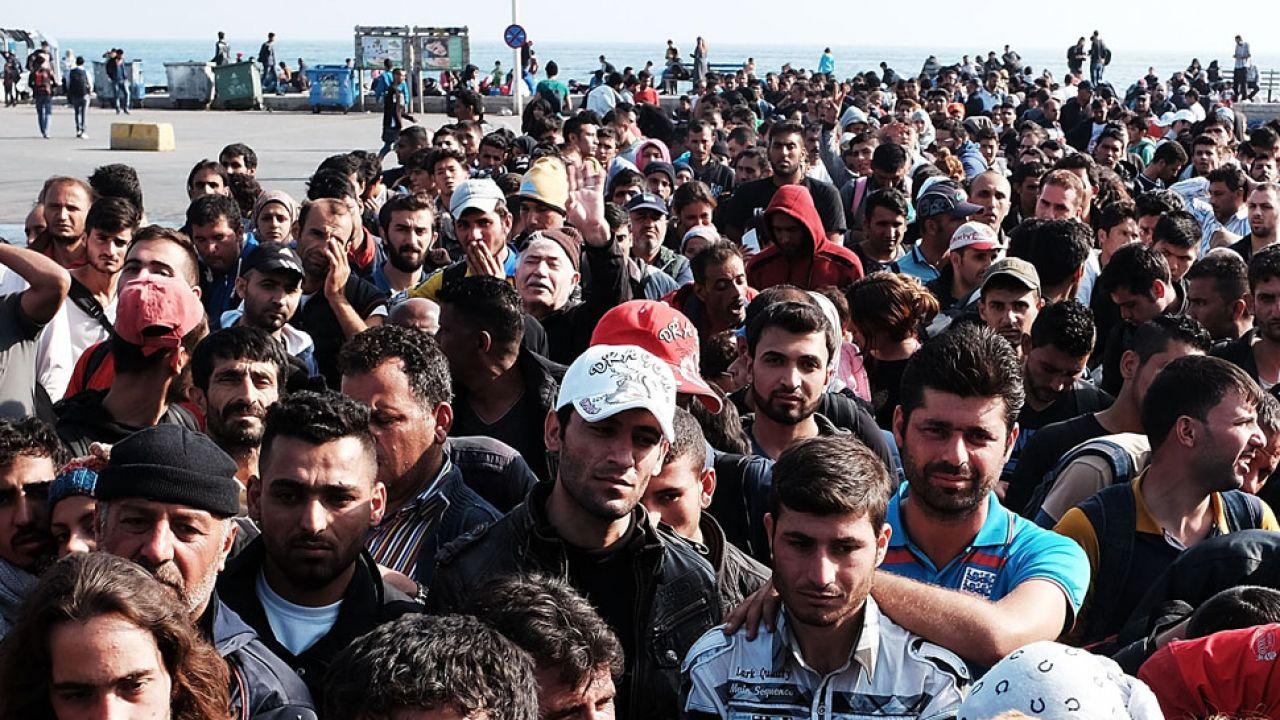 Wśród uchodźców są przedstawiciele mniejszości seksualnych (fot. Spencer Platt/Getty Images)
