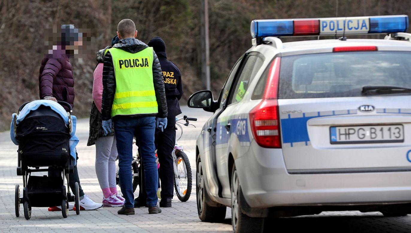 Cała rodzina została skierowana na kwarantannę (fot. PAP/Grzegorz Momot - zdjęcie ilustracyjne)