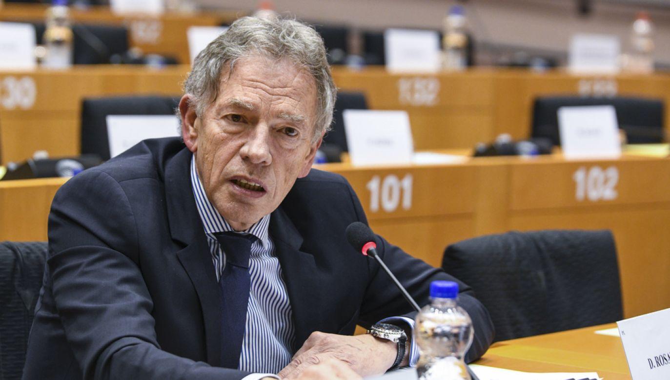 Dariusz Rosati (fot. European Union 2019 - Source: EP, Emilie GOMEZ)