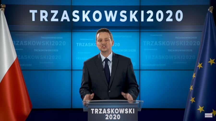 Trzaskowski groził dziennikarzom Telewizji Polskiej (fot. Facebook)