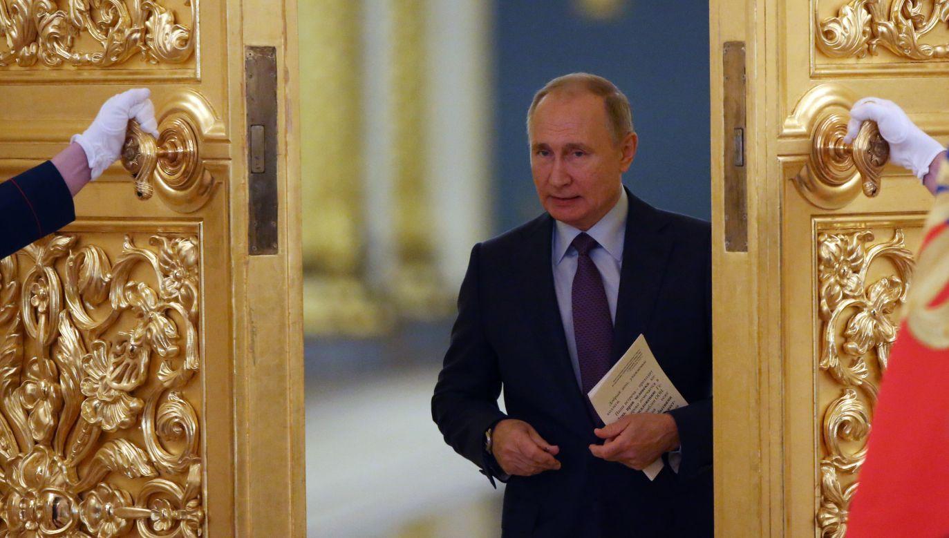 Władimir Putin traci swoją popularność  (Photo by Mikhail Svetlov/Getty Images)