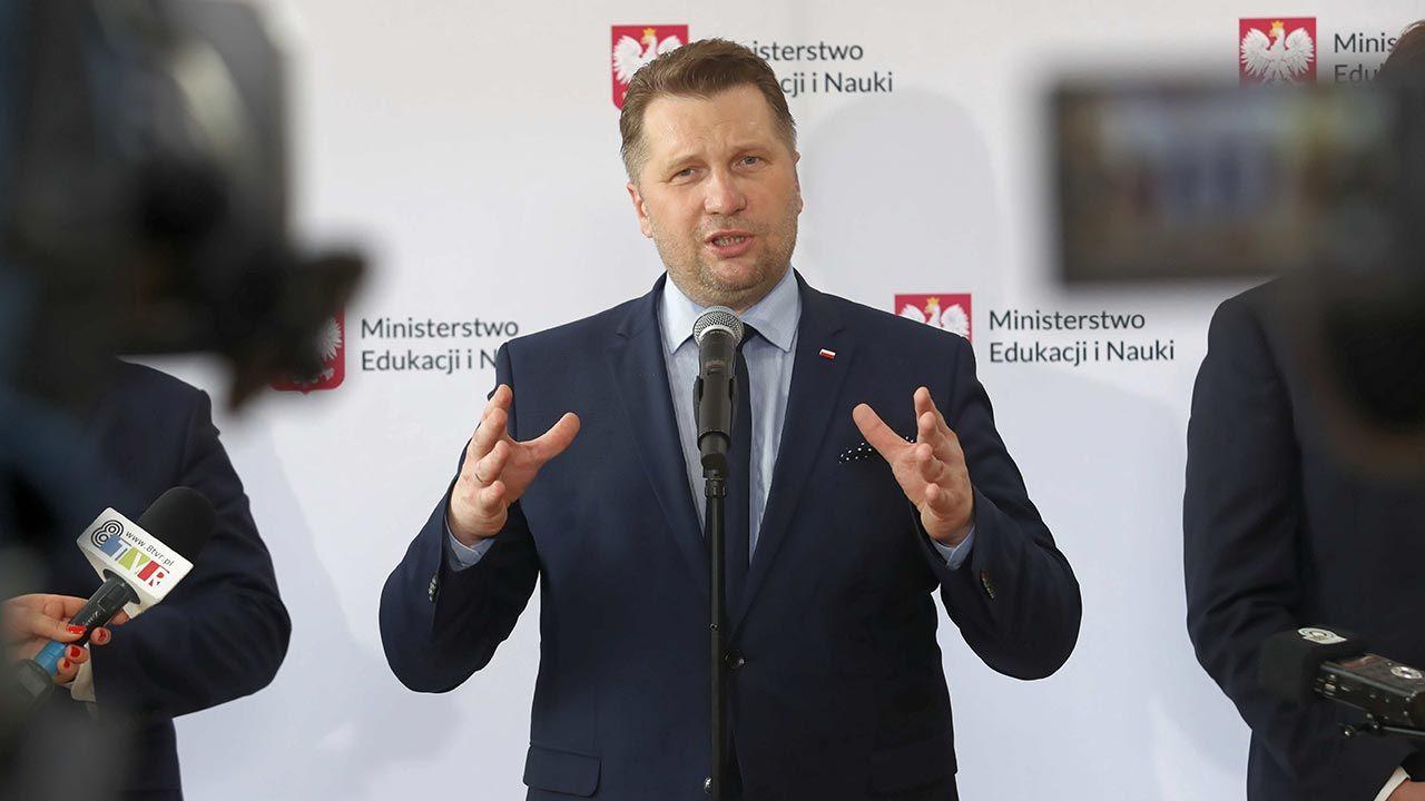 To był bardzo trudny rok szkolny – przyznaje minister Przemysław Czarnek (fot. PAP/Roman Zawistowski)