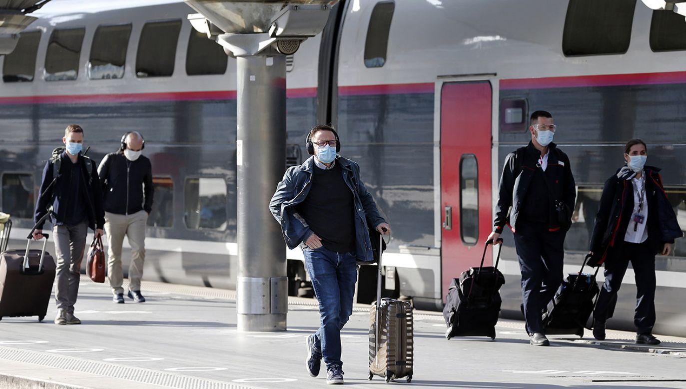 Francuscy maszyniści pociągów TGV zapowiadają strajk (fot. Chesnot/Contributor/Getty)