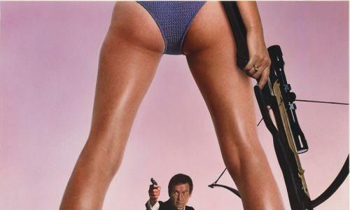 """Wraz z końcem ery dzieci kwiatów sentymentalny agent 007 musiał przepoczwarzyć się w zblazowanego playboya z twarzą Rogera Moore'a. Na zdjęciu film """"Tylko dla Twoich oczu/For your eyes Orly"""" z 1981 r., reż. John Glen. Fot. arch. TVP"""