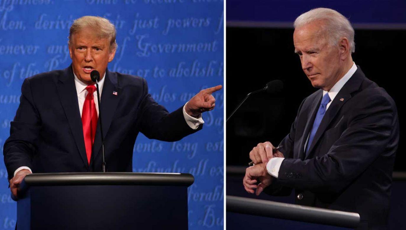 Szczególnie komentowane jest zachowanie Joe Bidena, który powtórzył wpadkę George'a H. W. Busha sprzed blisko 30 lat (fot. Justin Sullivan/Getty Images)