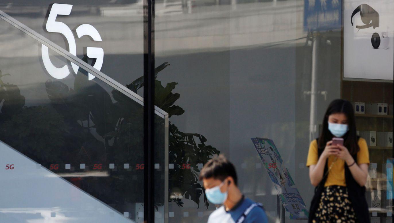 Deutsche Telekom, Vodafone i Telefonica korzystają już z technologii Huawei (fot. REUTERS/Tingshu Wang)