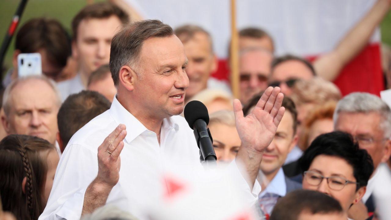 Prezydent RP Andrzej Duda (fot. PAP/Leszek Szymański)