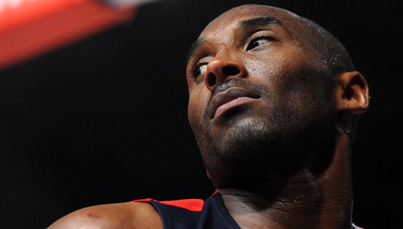 Ciało 41-letniego Kobe'ego Bryanta zidentyfikowano na podstawie odcisków palców (fot. PAP/EPA/PETER POWELL)
