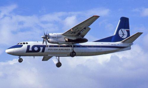 Porwany LOT-owski Antonov An-24RV (SP-LTG), lądujący na lotnisku Tempelhof w Berlinie Zachodnim. 30 kwiecień 1982 roku. Fot. Wikimedia/ Ralf Manteufel: http://abpic.co.uk/photo/1140584