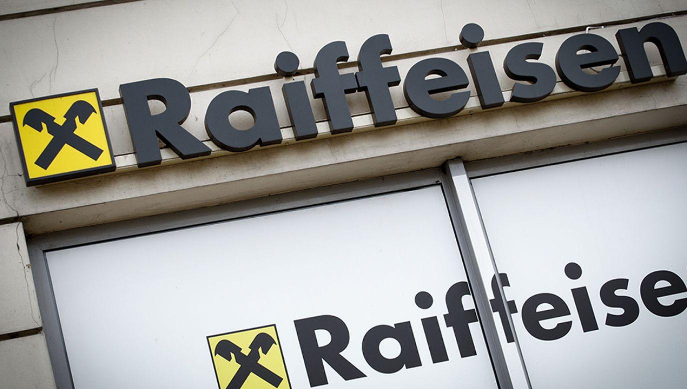 Zarzuty dotyczą Getin Noble Banku i Raiffeisen Bank International (fot. Jaap Arriens/NurPhoto via Getty Images)