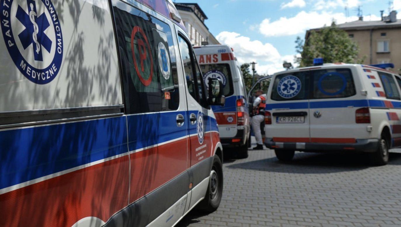 Okuliści z WSzZ w Kielcach opiekują się teraz pacjentami, którzy przed pandemią leczyli się w innych ośrodkach (fot. Artur Widak/NurPhoto via Getty Images)