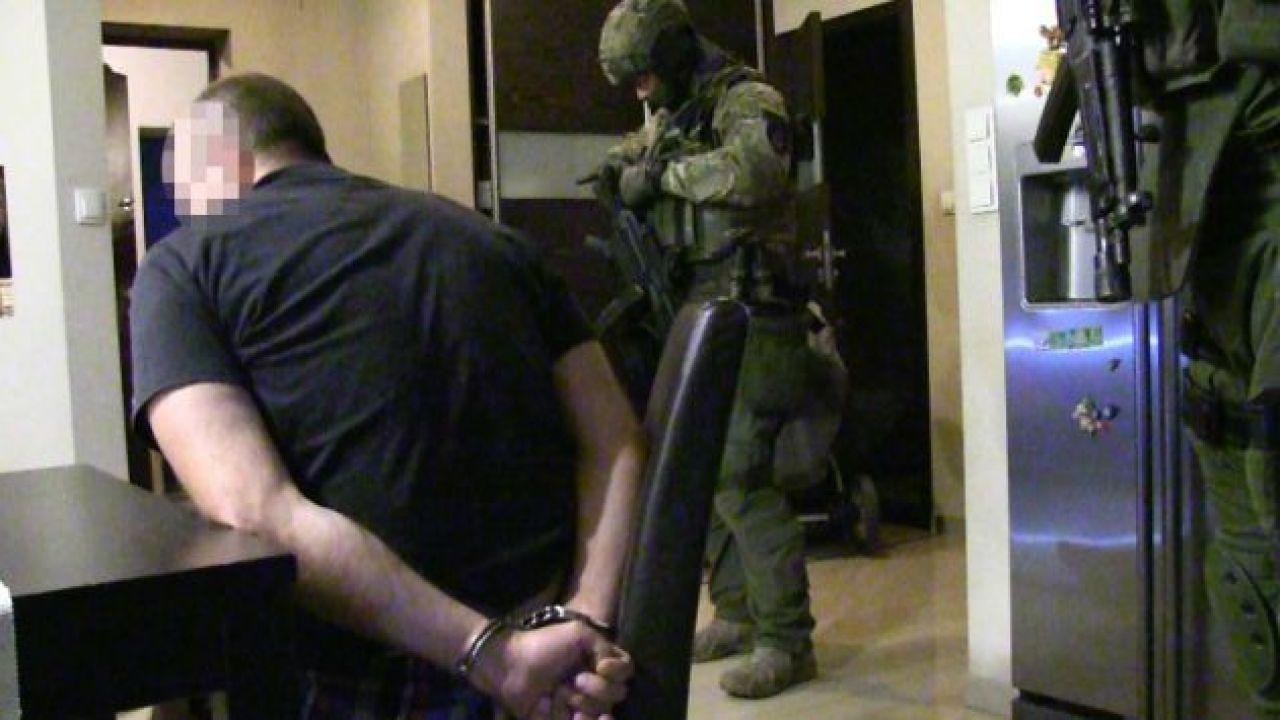 Jeden z zatrzymanych członków gangu Rafała B.(fot. policja)